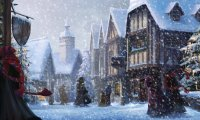 Hogsmeade at Christmas